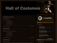 Hall Of Costumes Theme, Türkçe