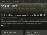 Cellar Heat Dark Theme, Türkçe